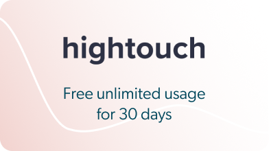 Hightouch - Free unlimited usage for 30 days
